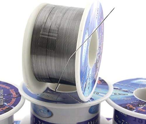 Ligne de soudure chaude /étain plomb colophane noyau fil de soudure 0.3mm 0.4mm 0.5mm 0.6mm 0.8mm 1.0mm 2/% Flux bobine ligne de soudage