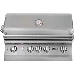 4 cast stainless steel burners (75,000 total BTUs). Lifetime warranty on cast burners. 304-16 gauge commercial grade stainless steel construction. XL temperature gauge. Double layer seamless welded stainless steel smoker head with polished ed...
