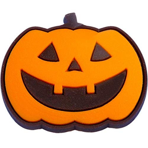 - Halloween Jack O Lantern Pumpkin Rubber Charm for Wristbands and Shoes