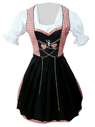 Plus Size Dirndl Dress - Dirndl World Womens Di04, German Bavarian