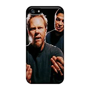 Premium Durable Metallica Fashion Iphone 5/5s Protective Cases Covers