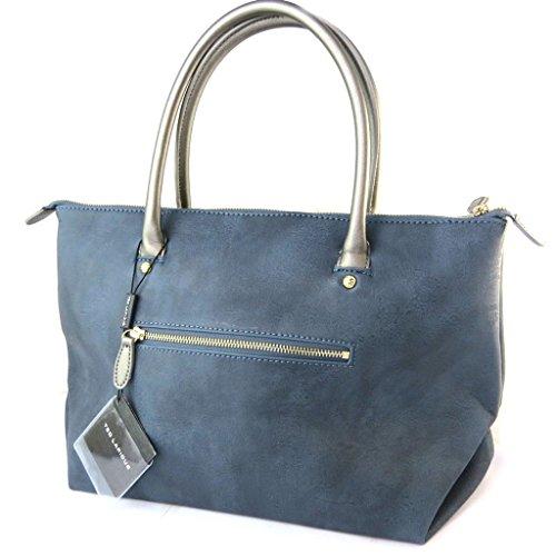 Bag designer Ted Lapidusblu vintage - 40x22.5x17 cm.
