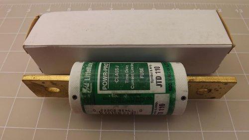 Littelfuse JTD110, 110Amp 600V Cartridge Blade Fuse