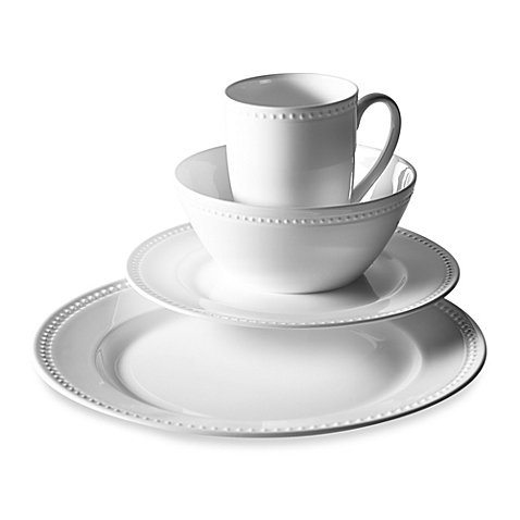 Otella Bone China Set, White, 16-Piece