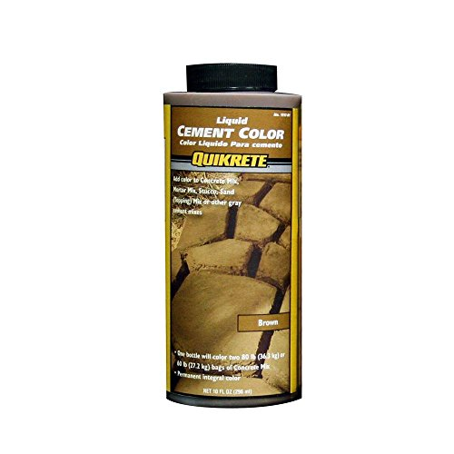 Quikrete 1317-01 Liquid Cement Color, 10oz, Brown (Dry Patio Mix Concrete)