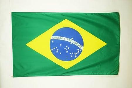 Drapeau flag br/ésilien BRESIL,150*90cm tissus 100/% polyester neuf