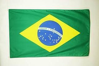 AZ FLAG Bandiera Brasile 150x90cm - Gran Bandiera Brasiliana 90 x 150 cm Poliestere Leggero - Bandiere