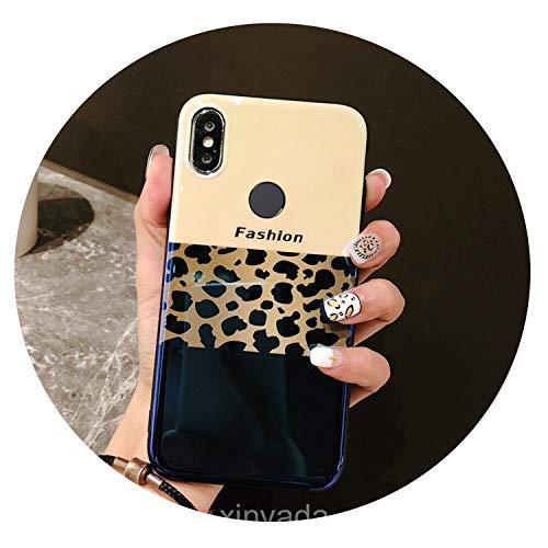 (Luxury Soft Gel Bumper Silicone TPU Leopard Print Back Cover for Huawei P Smart 2019 Plus 3i 3 Nova 4 Case Armor Shell Coque,02,Nova 4)