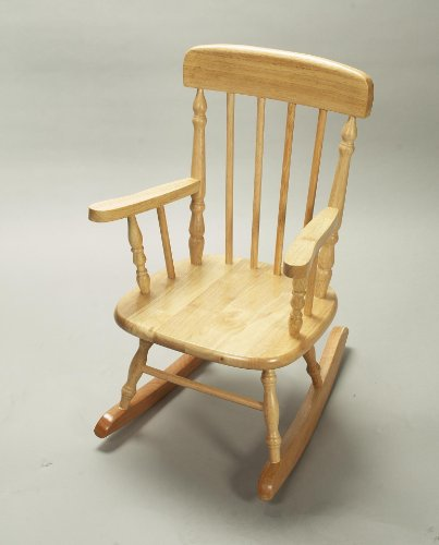 Deluxe Adult Spindle Rocking Chair - 1