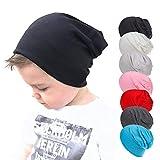 Gbell Toddler Soft Cotton Hip Hop Hat Cap Kids Baby Boy Girl Infant Cotton Beanie Caps Solid Color