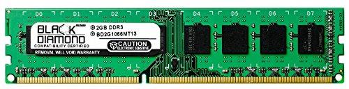 Pd1 Ram - 2GB RAM Memory for Acer Veriton X275-PD1 240pin PC3-8500 DDR3 DIMM 1066MHz Black Diamond Memory Module Upgrade