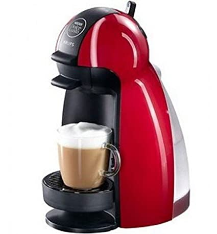 Cafetera DOLCE GUSTO PICCOLO roja KRUPS KP1006IB: Amazon.es ...