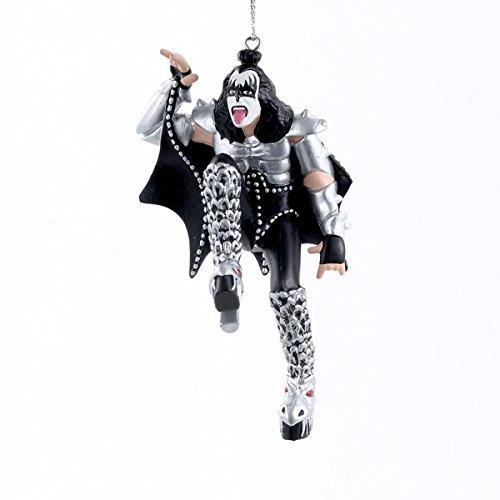 Kurt Adler KISS The Demon Gene Simmons Blow Mold Christmas Ornament (Rock Band Merchandise)