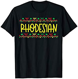 [Featured] Rhodesian Tshirt African Tee Rhodesia in ALL styles | Size S - 5XL