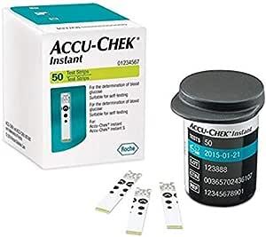 Accu Chek Instant Test Strip - 2724719440879