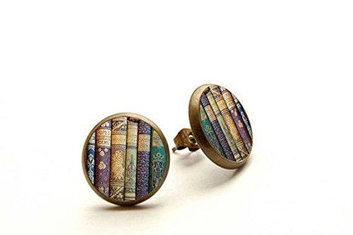 Earrings earrings library teachers Hypoallergenic product image
