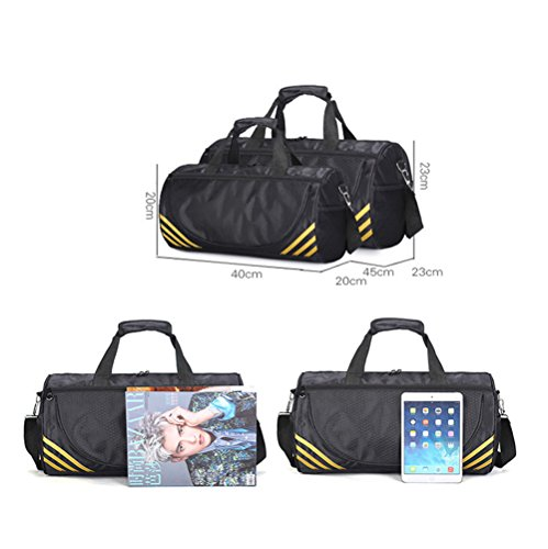 Women For Sports Bag Luggage Duffle Yogo Golden Travel amp; Water Lightweight s Gym resistant Adanina Men Foldable Bags wxq081ff