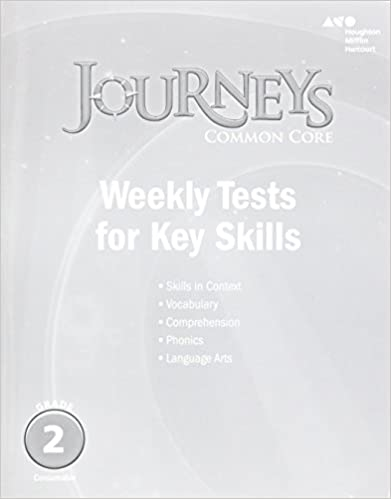 Amazon journeys common core weekly assessments grade 2 journeys common core weekly assessments grade 2 1st edition by houghton mifflin fandeluxe Gallery