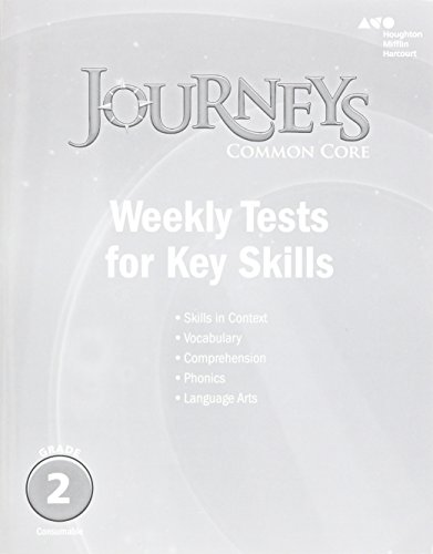 Journeys: Common Core Weekly Assessments Grade 2