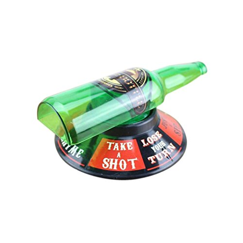 Drinking Games - Portable Spin The Shot Drinking Game Party Travel Game Adult Spin The Bottle