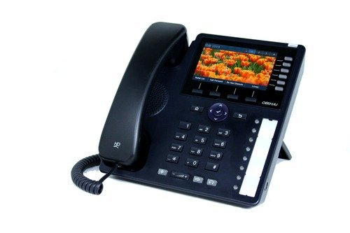 Obihai Gigabit IP Phone - Up to 24 Lines - Built-In WiFi and Bluetooth - Support for Google Voice and SIP-Based Services (OBi1062) - Sip Voip Phone Based