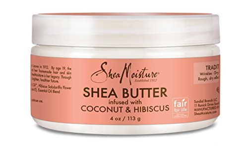 Shea Moisture Coconut & Hibiscus Infused Shea Butter, 4 Ounce