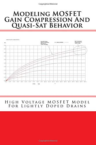 Modeling MOSFET Gain Compression And Quasi-Sat Behavior High Voltage MOSFET Model For Lightly Doped Drains [Peralta, Mike] (Tapa Blanda)