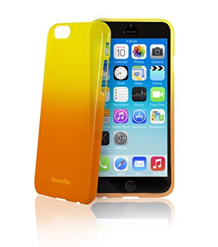 "XtremeMac Microshield Fade iPhone 6 Plus Case (Fits 5.5"") (IPP-MF6P-93 Orange/Yellow)"