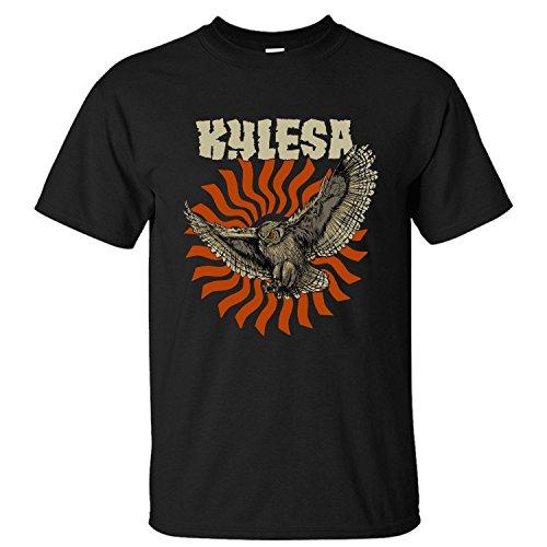 WPAD Men's Kylesa Rock Band Cotton Short Sleeve T-shirt black L