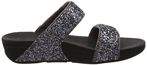 Slide Toe Glitterball Fitflop Open in Sandals peltro Grigio Pxqgvwq