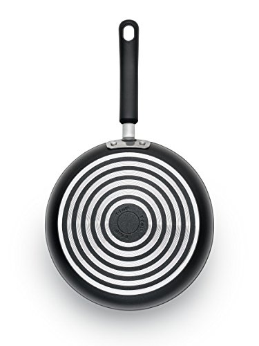 T-fal C5610564 Titanium Advanced Nonstick Thermo-Spot Heat Indicator Dishwasher Safe Cookware Fry Pan, 10.5-Inch, Black