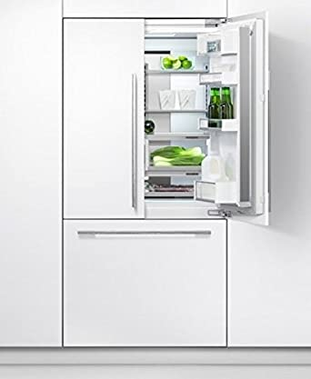 Fisher And Paykel RS90A1 Fully Integrated Designer French Door Fridge  Freezer