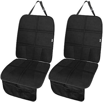 Kindersitzunterlage Netztaschen Unterlage für Auto Kinder//Hund Babyautositze L