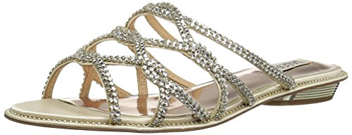 n's Sofie Flat Sandal, Ivory, 8 M US (Sofie Leather)