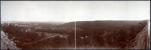 Photo Quakake Valley from Point Lookout 1896