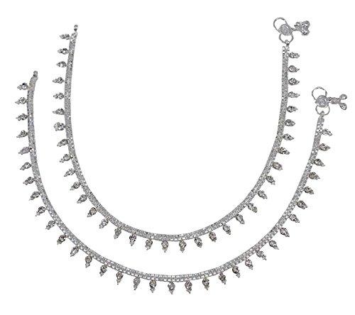 Designer Anklets (Banithani Beach Foot Ankle Bracelet Designer Indian Traditional Jewelry Gift For Women)