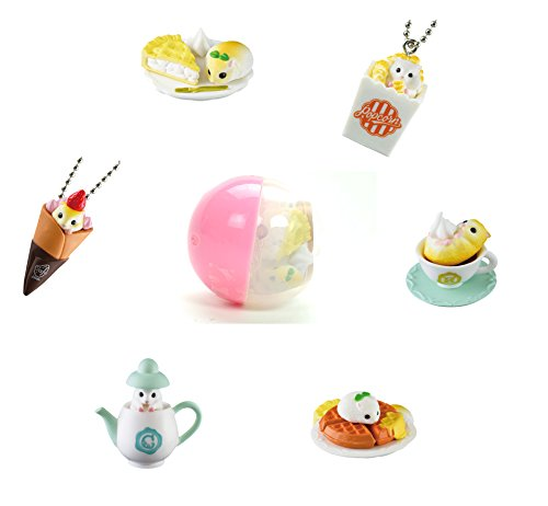 Cafe De Ham Selection Blind Box Capsule Miniature Hamster Toy Mini Mystery Surprise Japanese Gashapon (1 Random Mini Figure)