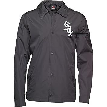 Majestic Athletic para Hombre MLB Chicago White Sox Lorde Chaqueta de  béisbol Entrenadores Negro 3f8ab2819db