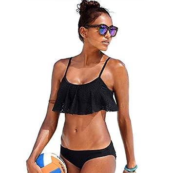 GUOQUNUP Falda De Playa Nuevo Bikinis Mujeres Traje De Baño Push ...