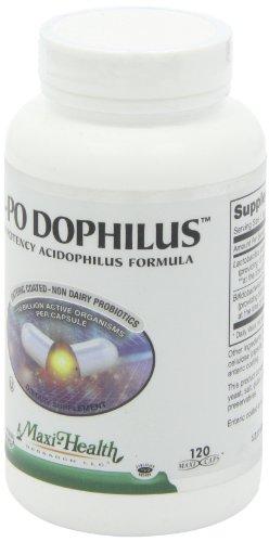 Maxi Health HI-PO Dophilus High Potency Acidophilus Probiotics, 120 Count by Maxi Health (Image #5)