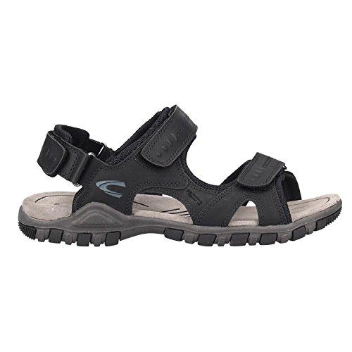 ... camel active Herren Schuh Ocean 11 Sportive Trekking-Sandale Aus  Hochwertigen Hightech-Materialien Schwarz ... 0ee14eb59b