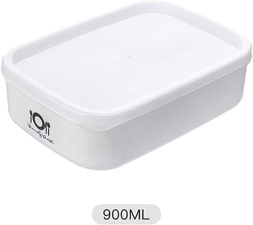 Amazon.com: Oil-LIKIO - Fiambrera para microondas, 900 ml ...