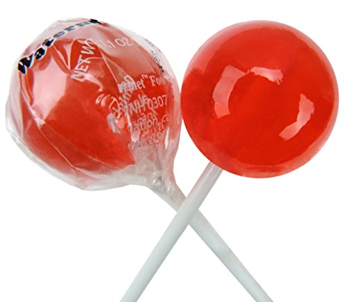 Original Gourmet Lollipops, Watermelon, (Pack of 30) -