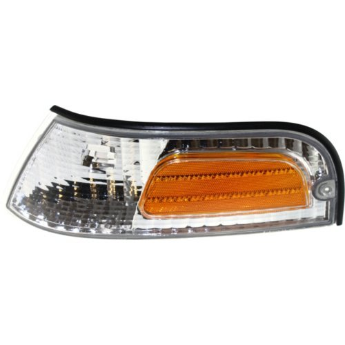 Evan-Fischer EVA20572013599 Corner Light For 98-2011 Ford Crown Victoria Driver Side Incandescent