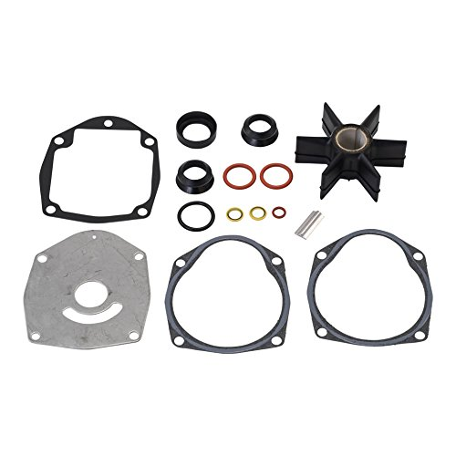QuickSilver 8M0100526 Water Pump Repair Kit - Mercury and Mariner Outboards and MerCruiser Stern Drives (Quicksilver Impeller)