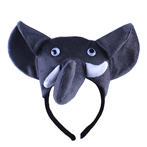 Animals Cute Headband Party Costume Ear Headband Cosplay (Elephant) -