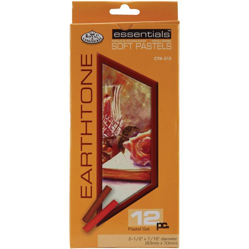 Royal & Langnickel Earth Tone Soft Pastels, 12-Piece