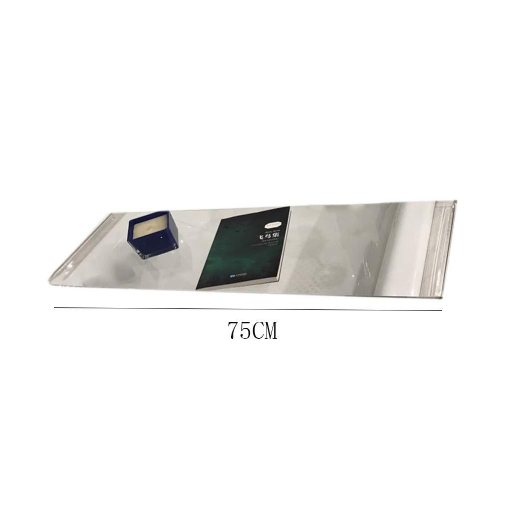 Tama/ño : 70cm Bandeja de Cristal de la ba/ñera Bandeja de la ba/ñera Bandeja de Carrito LIMING-Bathroom Bandeja de la ba/ñera