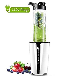 Bullet Blender for Shake and Smoothie, Small Blender & Smoothie Blender for Milk Shake and Fruit Mixer/Juicer, Shake blender with 600ML Travel Bottle, 300W