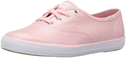 Keds Donna Taylor Swift Metallic Canvas Fashion Sneaker Light Pink